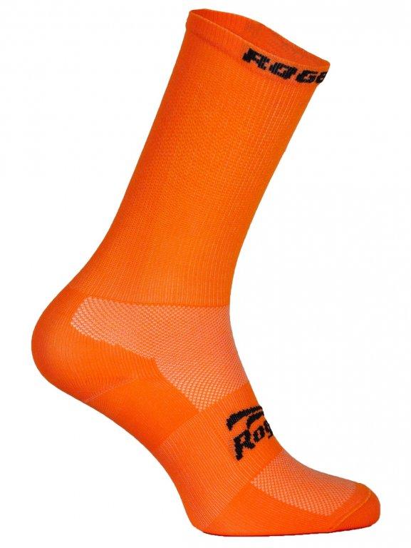 ponožky Rogelli Q-SKIN antibakteriální oranžové