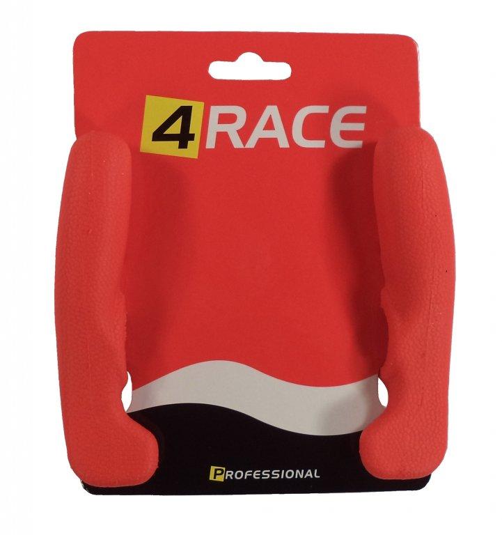 rohy 4RACE AL+guma 12cm červené
