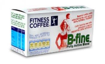 káva Fitness Coffee B-Fine 30x7g exp.9/18