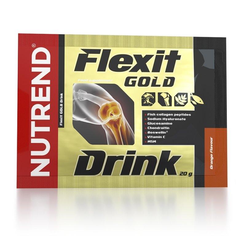 nápoj Nutrend Flexit GOLD Drink 10x20g pomeranč