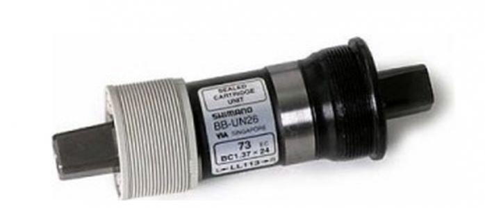 Osa středová Shimano BBUN26 73-122,5 BSA