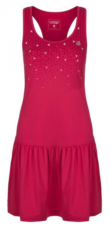 šaty dámské LOAP MERSILA růžové