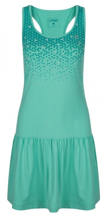 šaty dámské LOAP MERSILA zelené
