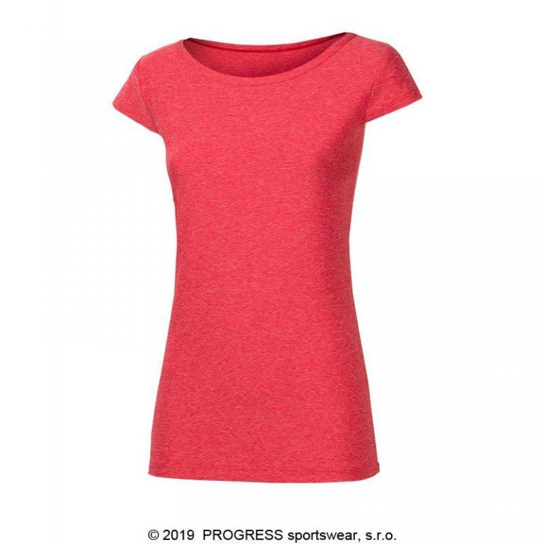 Triko krátké dámské Progress CORDOBA červené