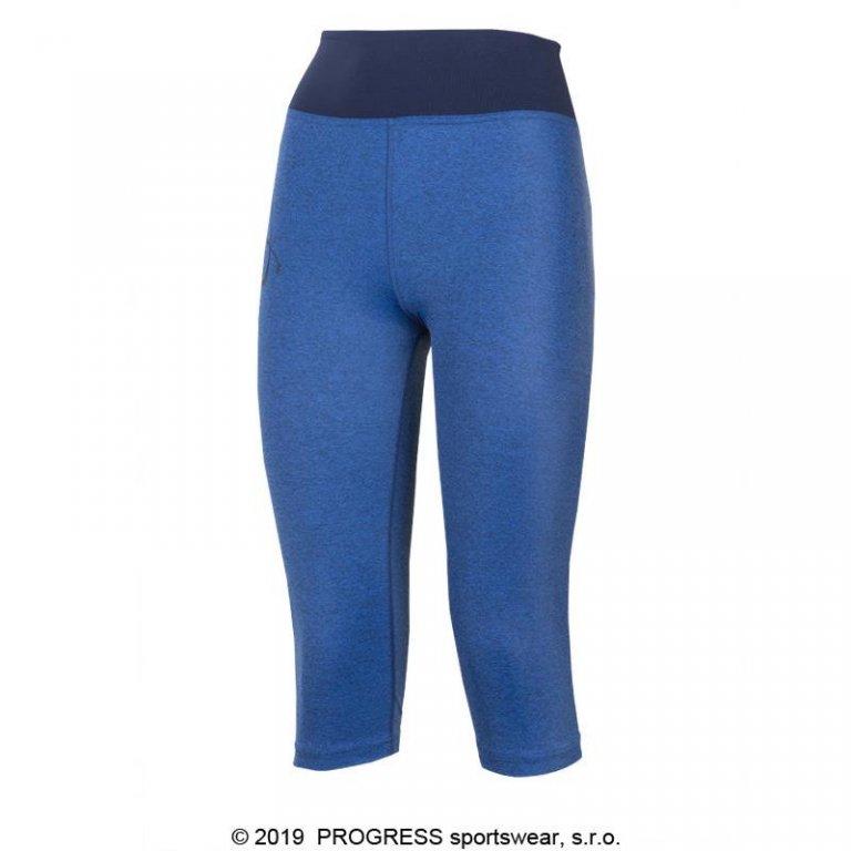 Kalhoty 3/4 dámské Progress IMPALA 3Q modré