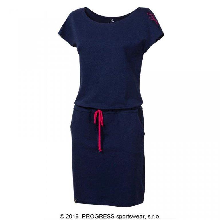 šaty dámské Progress MARTINA modré