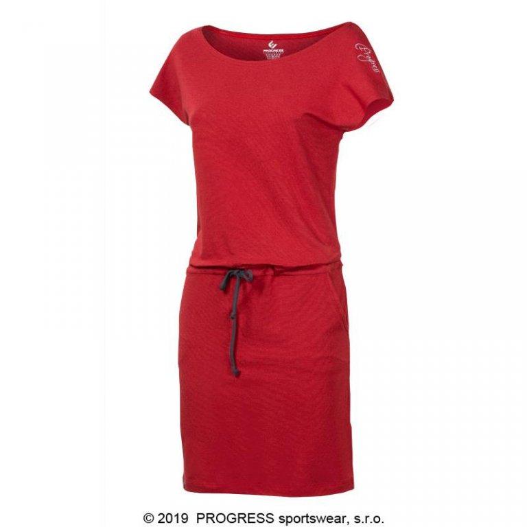 šaty dámské Progress MARTINA červené