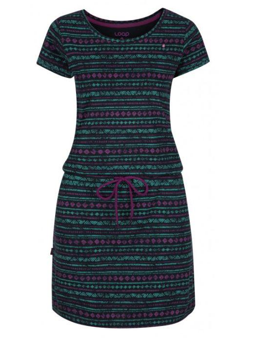šaty dámské LOAP BERETA modré