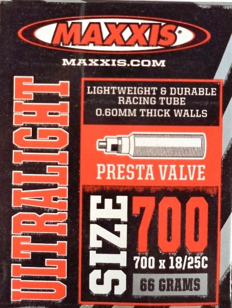 """duše MAXXIS Ultralight 28""""x0.75-1.00 (18/25-622) FV/40mm"""
