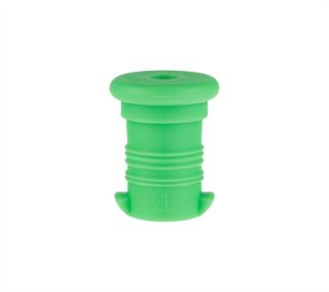 zátka na lahev R&B neon zelená