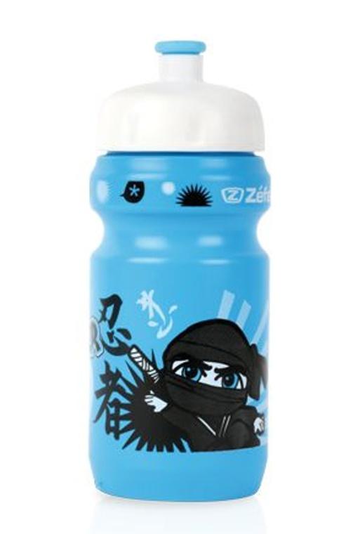 lahev ZEFAL dětská LITTLE Z+držák Ninja Boy modrá