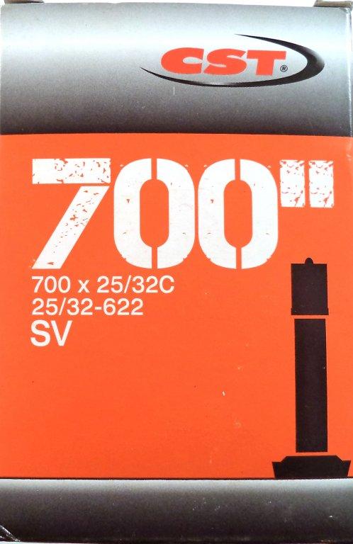 """duše CST 28""""x1.00-1.25 (25/32-622) AV/33mm"""