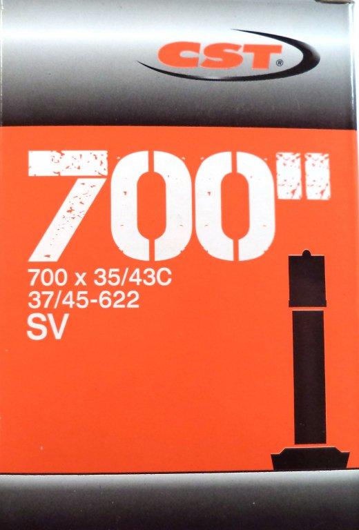 """duše CST 28""""x1.40-1.70 (37/45-622) AV/40mm"""