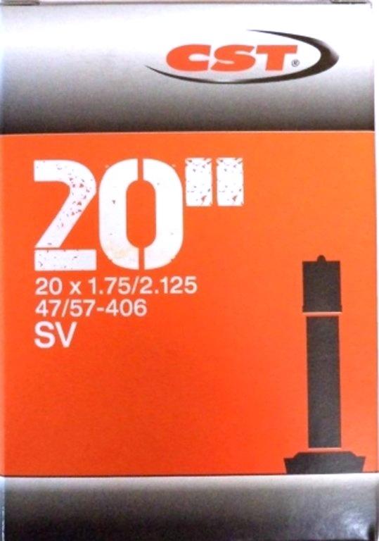 """duše CST 20""""x1.75-2.125 (47/57-406) AV/33mm"""