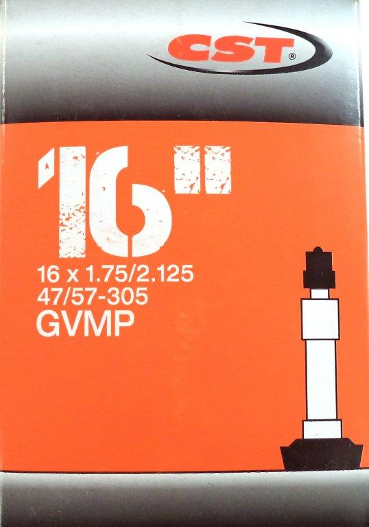 """duše CST 16""""x1.75-2.125 (47/57-305) DV/40mm"""