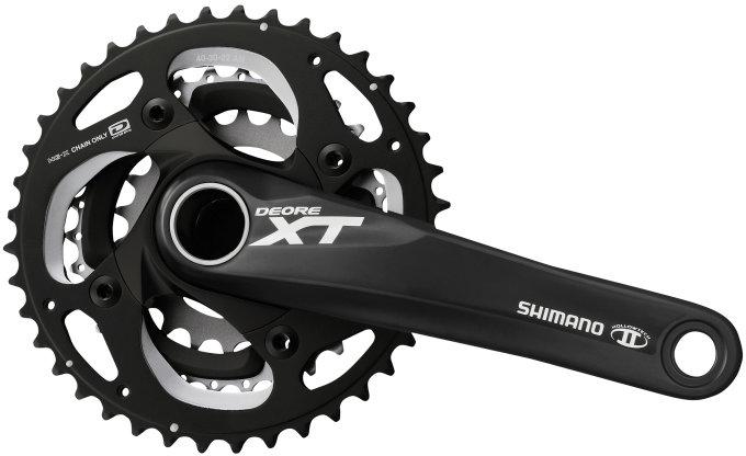 Kliky Shimano XT FC-M782 3x10 40/30/22z 175mm černé