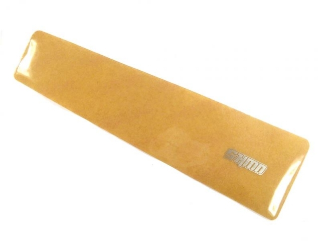 ochranná samolepka ShamanRacing pod řetěz XL čir