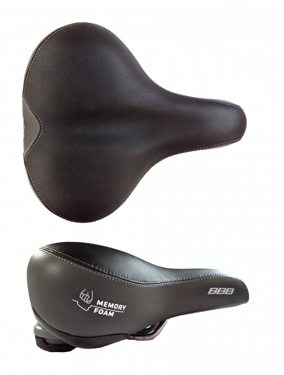 sedlo MTB BBB SoftComfort černé