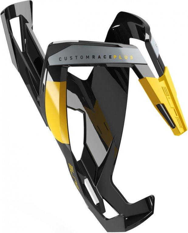 košík ELITE Custom Race Plus Black, žlutý graphic