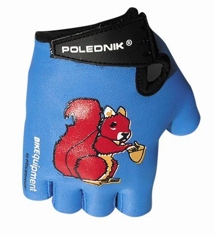 rukavice dětské Poledník modré veverka