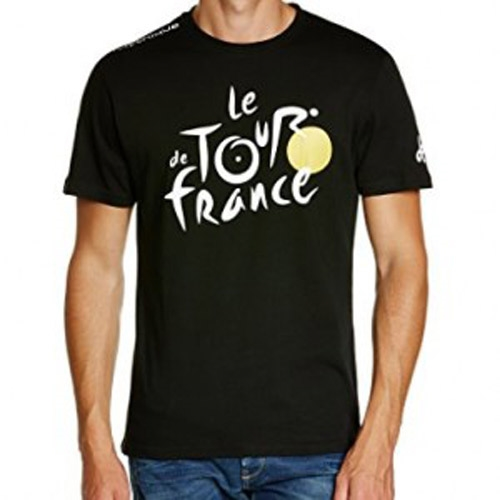 triko krátké pánské Tour de France LEADER černé