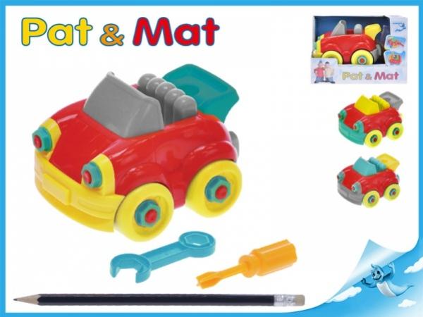 auto Pat a Mat 13cm šroubovací