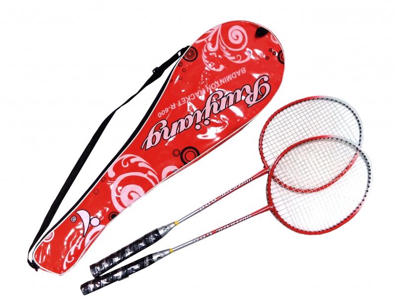 badmintonová sada DE LUXE červená