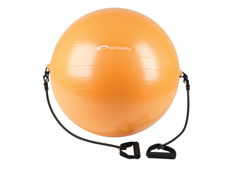 míč gymnastický Spokey ENERGETIC 65cm s expandery a pumpičkou