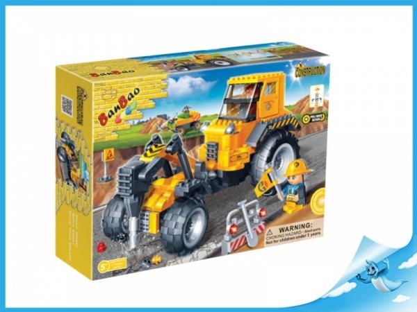 Banbao stavebnice Construction auto se sbíječkou