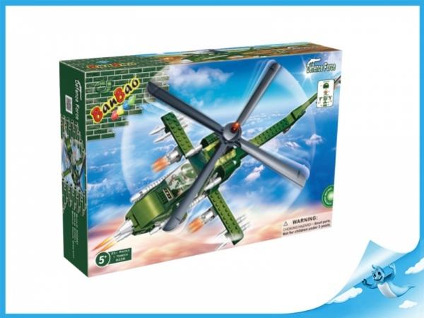 Banbao stavebnice Defence Force bitevní vrtulník