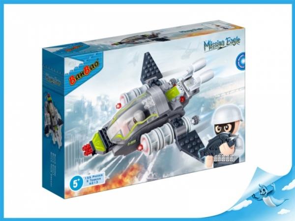 Banbao stavebnice Mission Eagle raketoplán