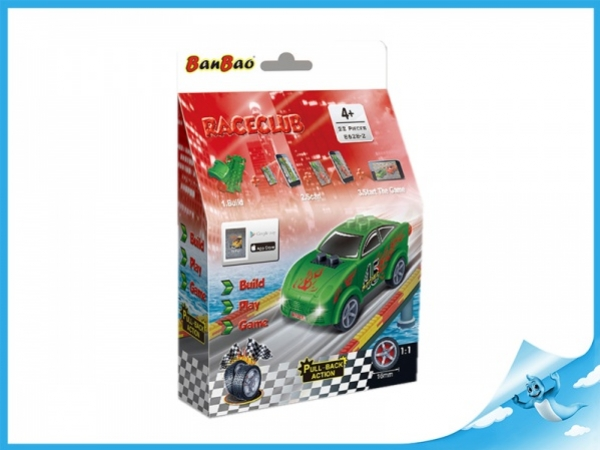 Banbao stavebnice RaceClub auto Joy