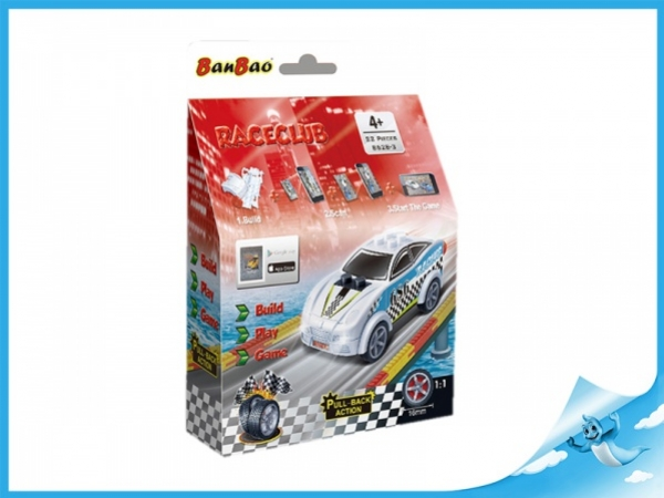 Banbao stavebnice RaceClub auto Blizzard