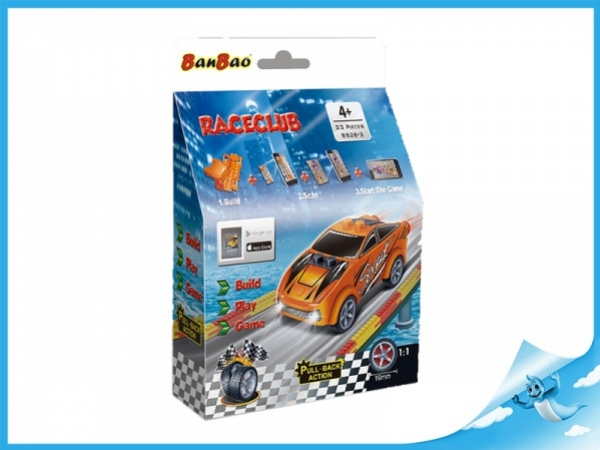 Banbao stavebnice RaceClub auto Mimik