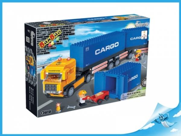 Banbao stavebnice Transportation tahač