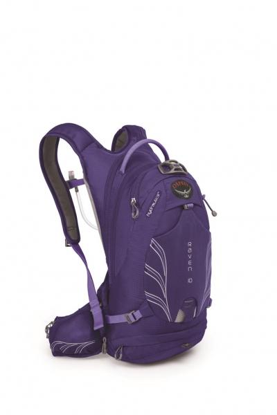 batoh + rezervoár OSPREY RAVEN 10 fialový