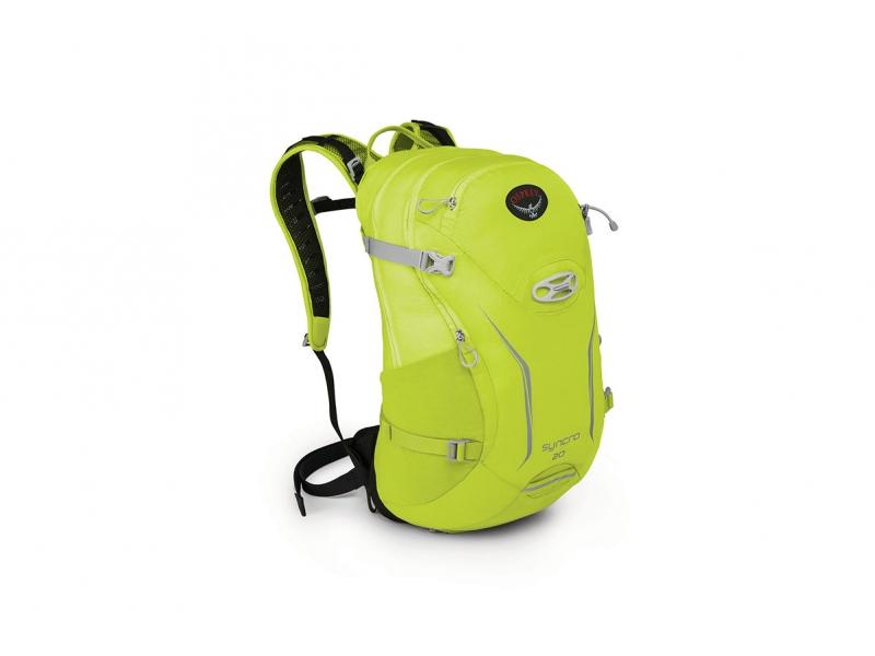 batoh + pláštěnkaOsprey Syncro 20l velocity green