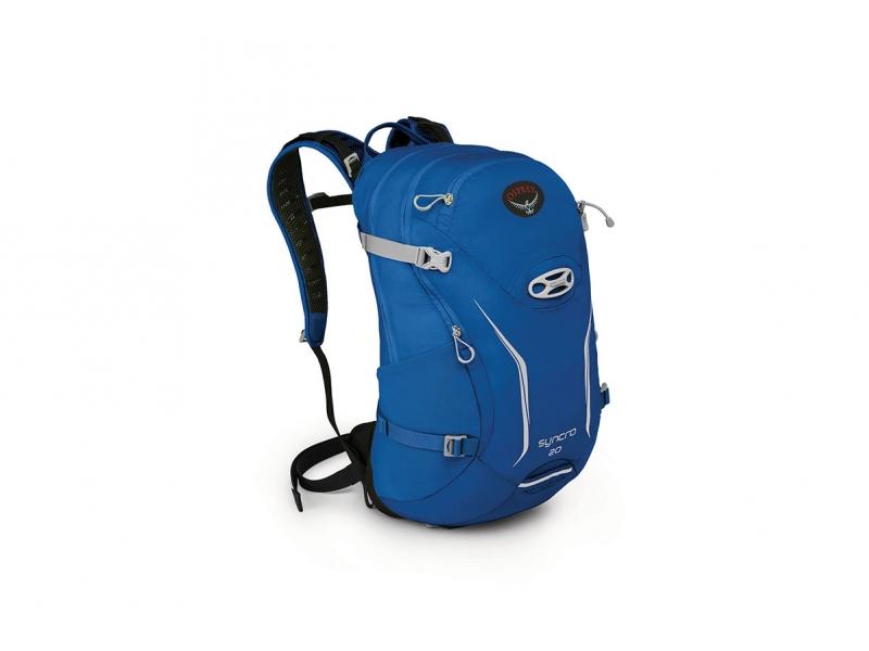 batoh + pláštěnka OSPREY SYNCRO 20 modrý