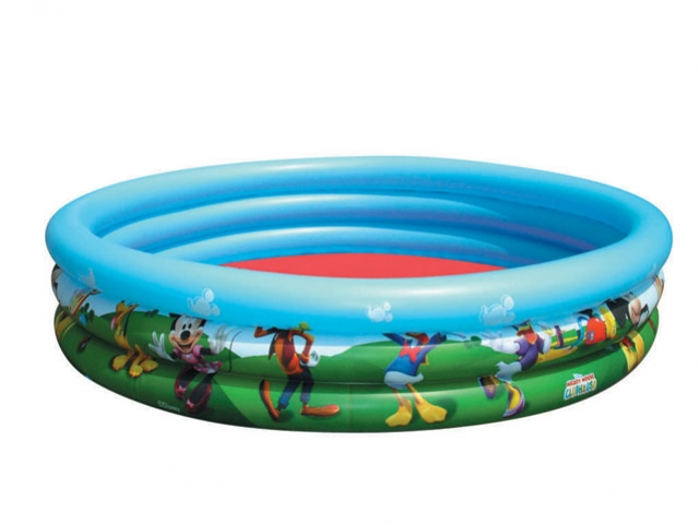 bazén nafukovací 3 komory Mickey Mouse 102x25cm