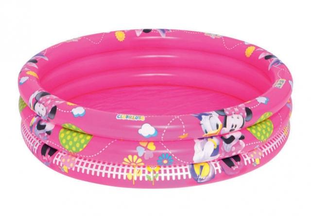 bazén nafukovací 3 komory Minnie 102x25cm