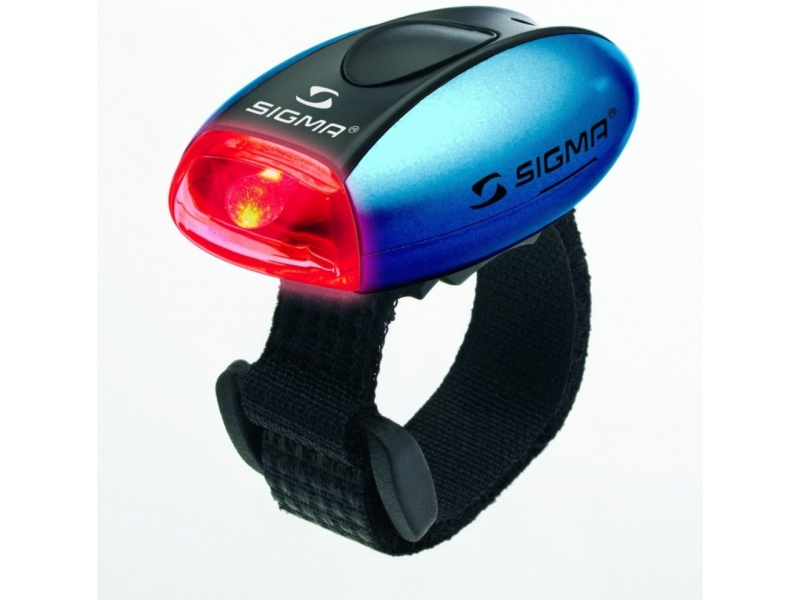 blikačka zadní SIGMA MICRO R modrá 2f