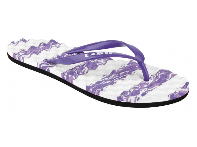 boty dámské LOAP LAGOON žabky fialové