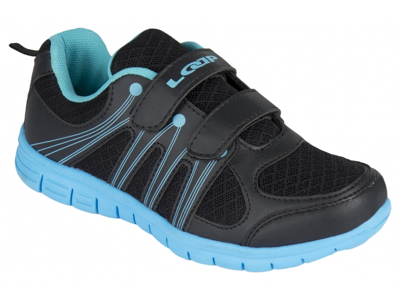 boty dětské LOAP NERA černo/modré