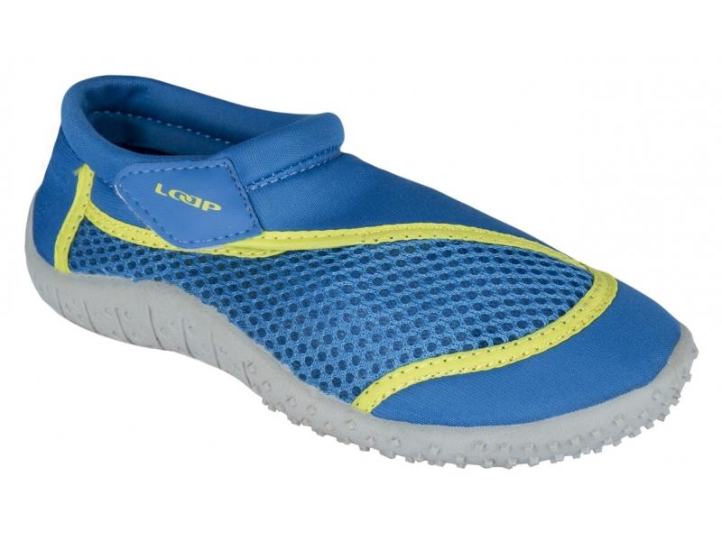 boty dětské LOAP RELIS KID do vody modro/zelené