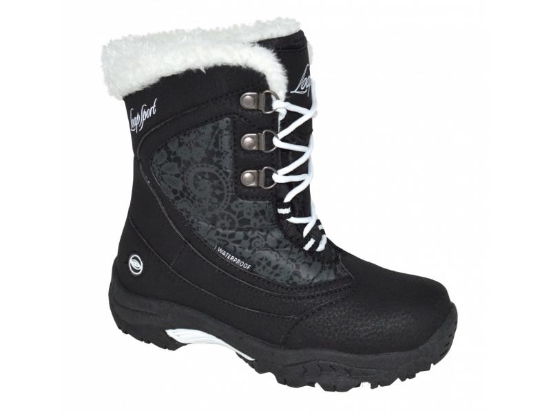 boty dětské LOAP SPIRIT zimní černo/bílé