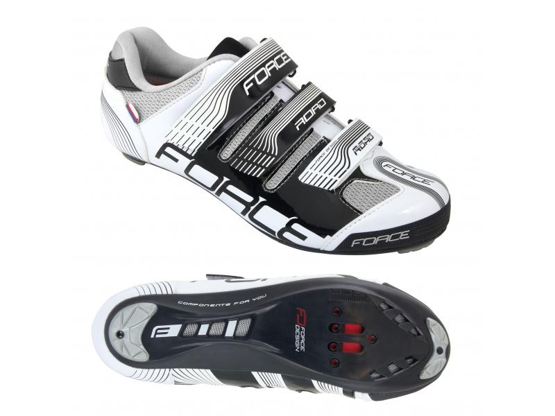 boty Force ROAD černo/bílé