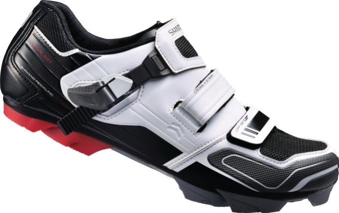 boty Shimano XC51 bílé