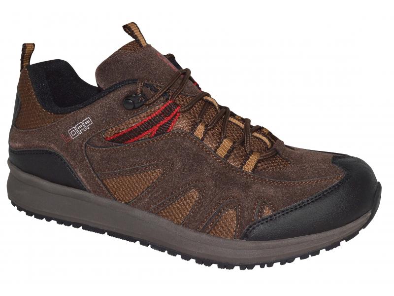 boty pánské LOAP MERIO outdoorové hnědé