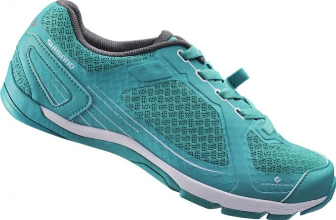 boty Shimano CW41 zelené