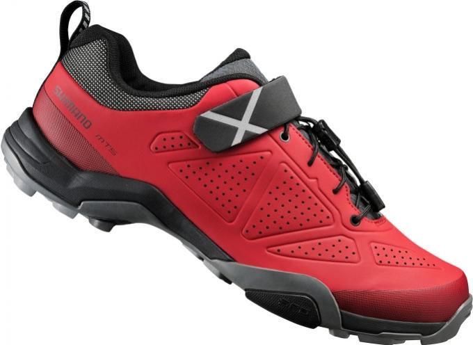 boty Shimano SH-MT5 červené
